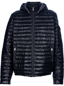 DG1383 Moncler Lionel Padded Jacket Mens Black [8e5b]